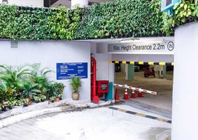 Carpark Entrance